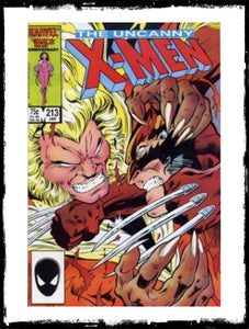 UNCANNY X-MEN - #213 PSYLOCKE JOINS X-MEN (1987 - VG)