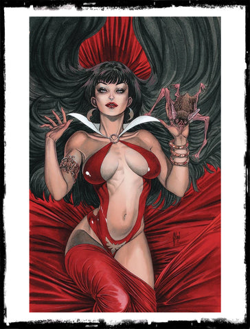VAMPIRELLA - #10 1:40 GUILLEM MARCH VIRGIN VARIANT (2020 - NM)