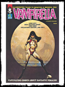 VAMPIRELLA - #1 1969 REPLICA EDITION - FRANK FRAZETTA COVER (2019 - NM)