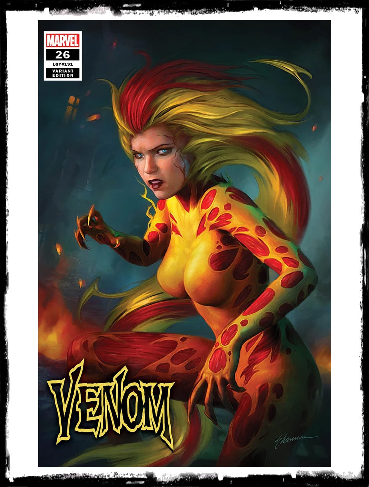VENOM - #26 SHANNON MAER VARIANT - LTD 3000 - 1ST APP OF VIRUS (2020 - NM)