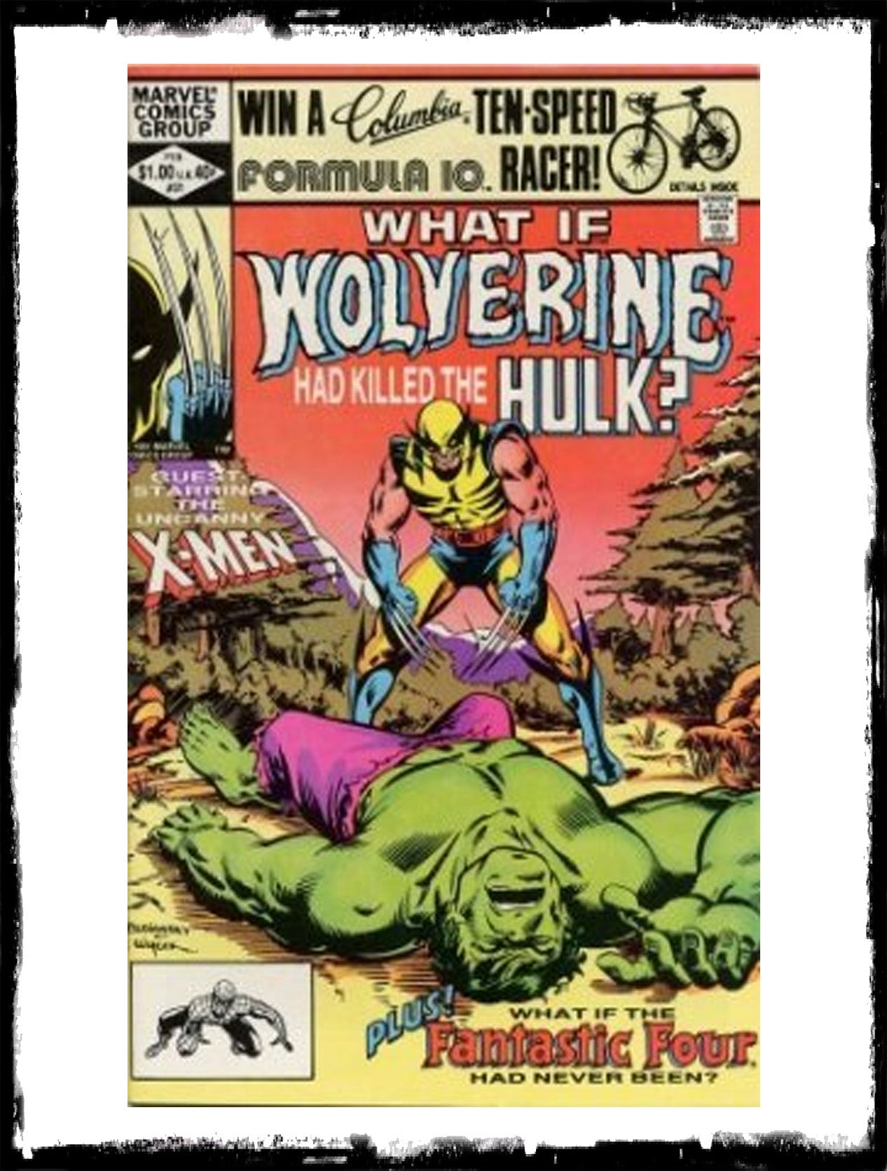 WHAT IF? - #31 WHAT IF WOLVERINE HAD KILLED THE HULK? (1982 - VF+)
