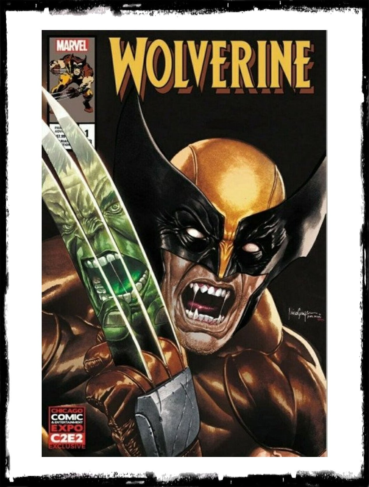 WOLVERINE - #1 C2E2 MICO SUAYAN EXCLUSIVE (2020 - VF+/NM)