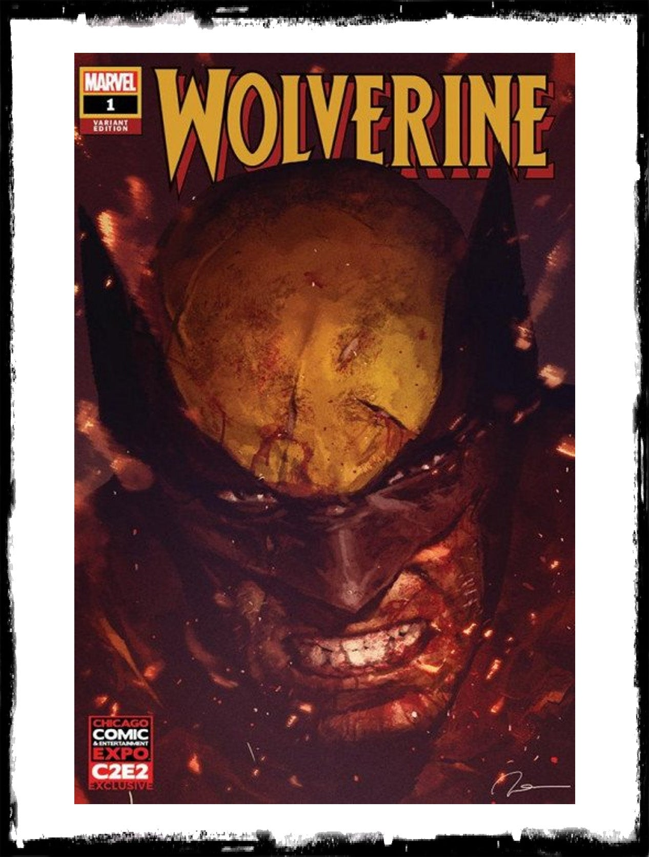 WOLVERINE - #1 C2E2 GERALD PAREL EXCLUSIVE (2020 - NM)