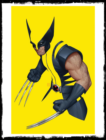 WOLVERINE - #1 JOHN TYLER CHRISTOPHER C2E2 / EMERALD CITY NEGATIVE SPACE VARIANT (2020 - NM)