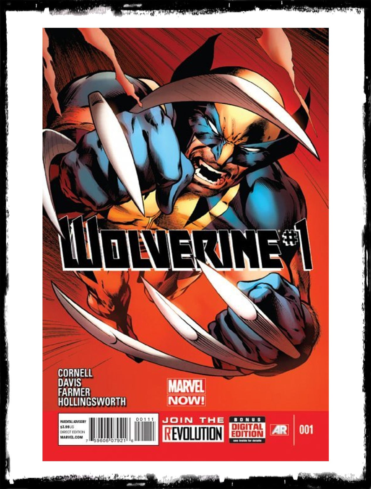 WOLVERINE - #1 (2013 - VF+/NM)