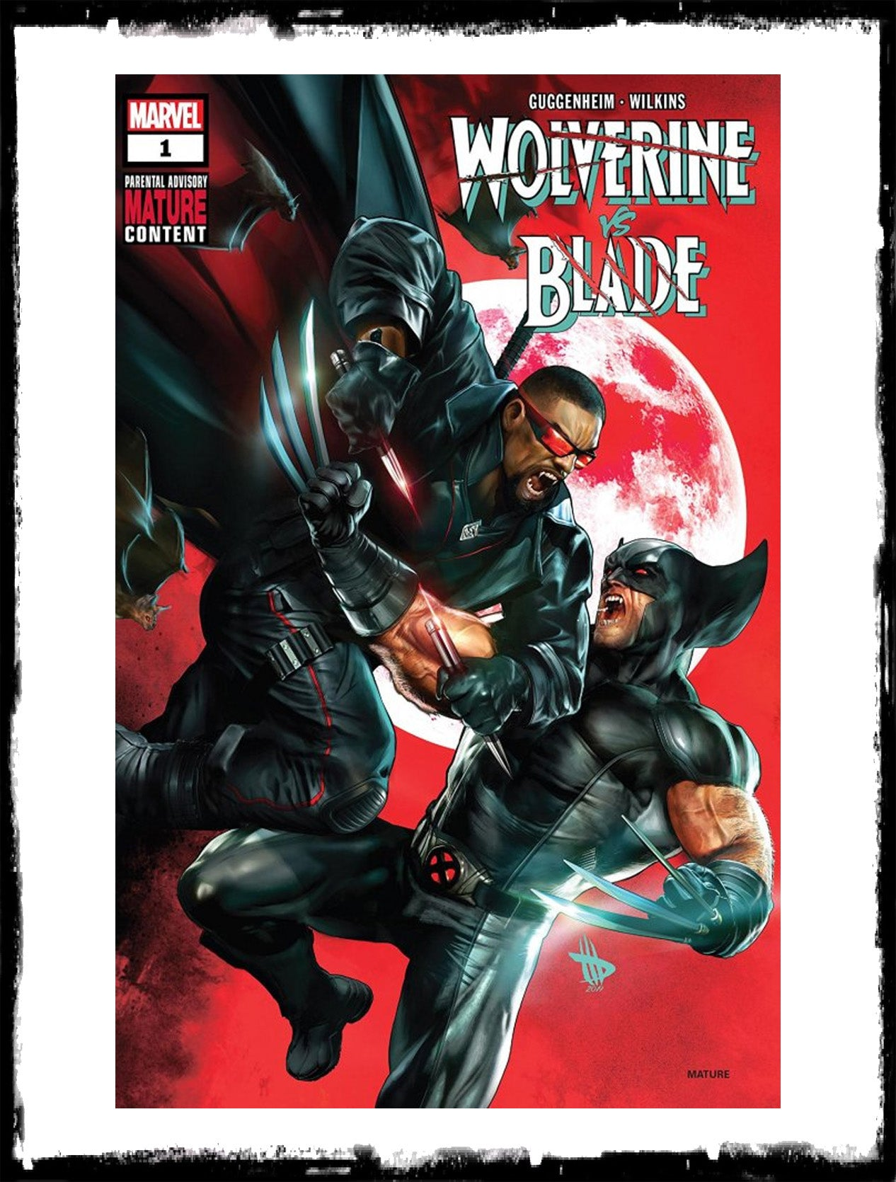 WOLVERINE VS BLADE - #1 DAVE WILKINS TRADE DRESS VARIANT (2019 - NM)