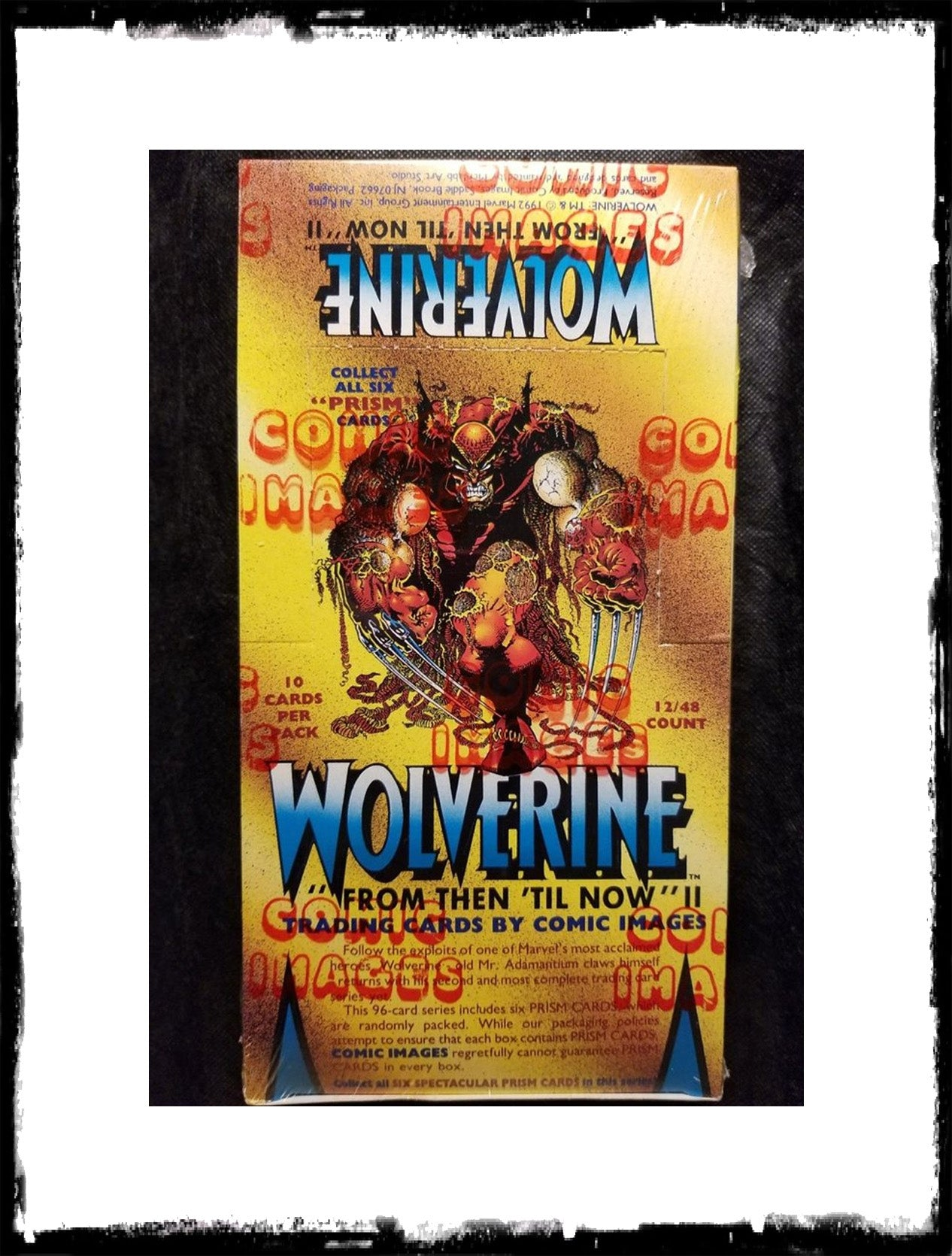 "WOLVERINE: ""FROM THEN TILL NOW"" II - 1992 SEALED TRADING CARD BOX!"