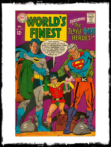 WORLD'S FINEST - #173 1ST TWO-FACE IN SILVER AGE (1968 - FN+/VF-)