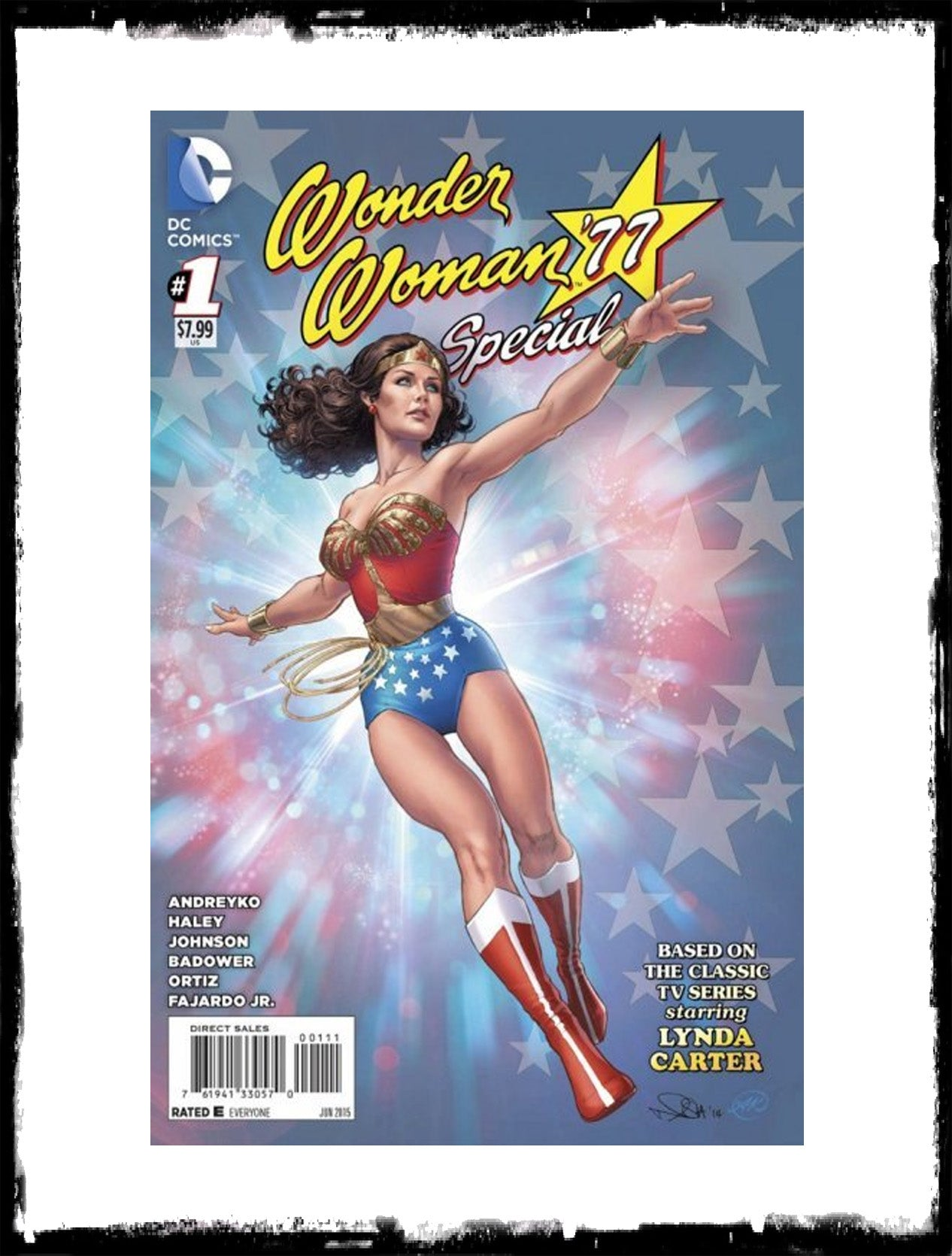 WONDER WOMAN '77 - #1 (2015 - CONDITION NM)