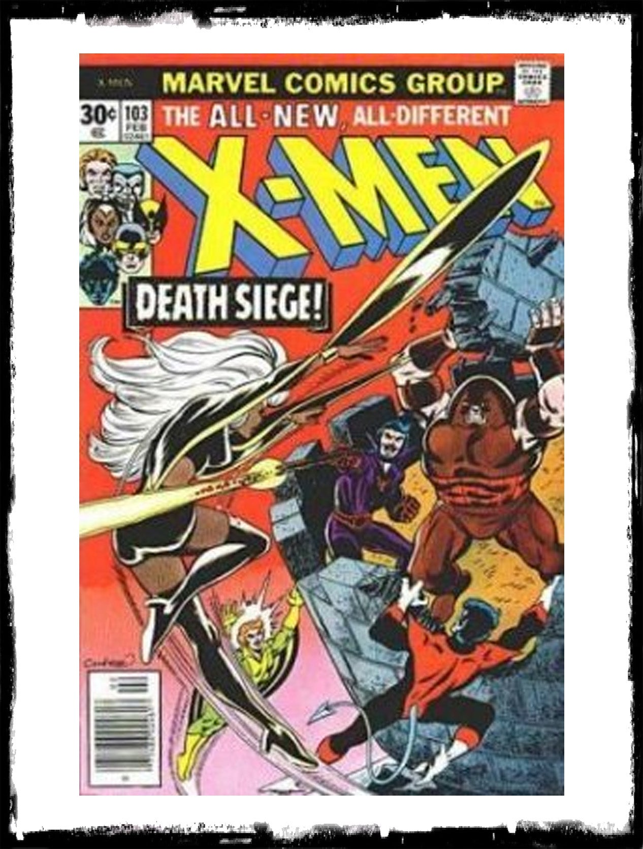 "UNCANNY X-MEN - #103 FIRST ""LOGAN"" NAME (1977 - VF)"