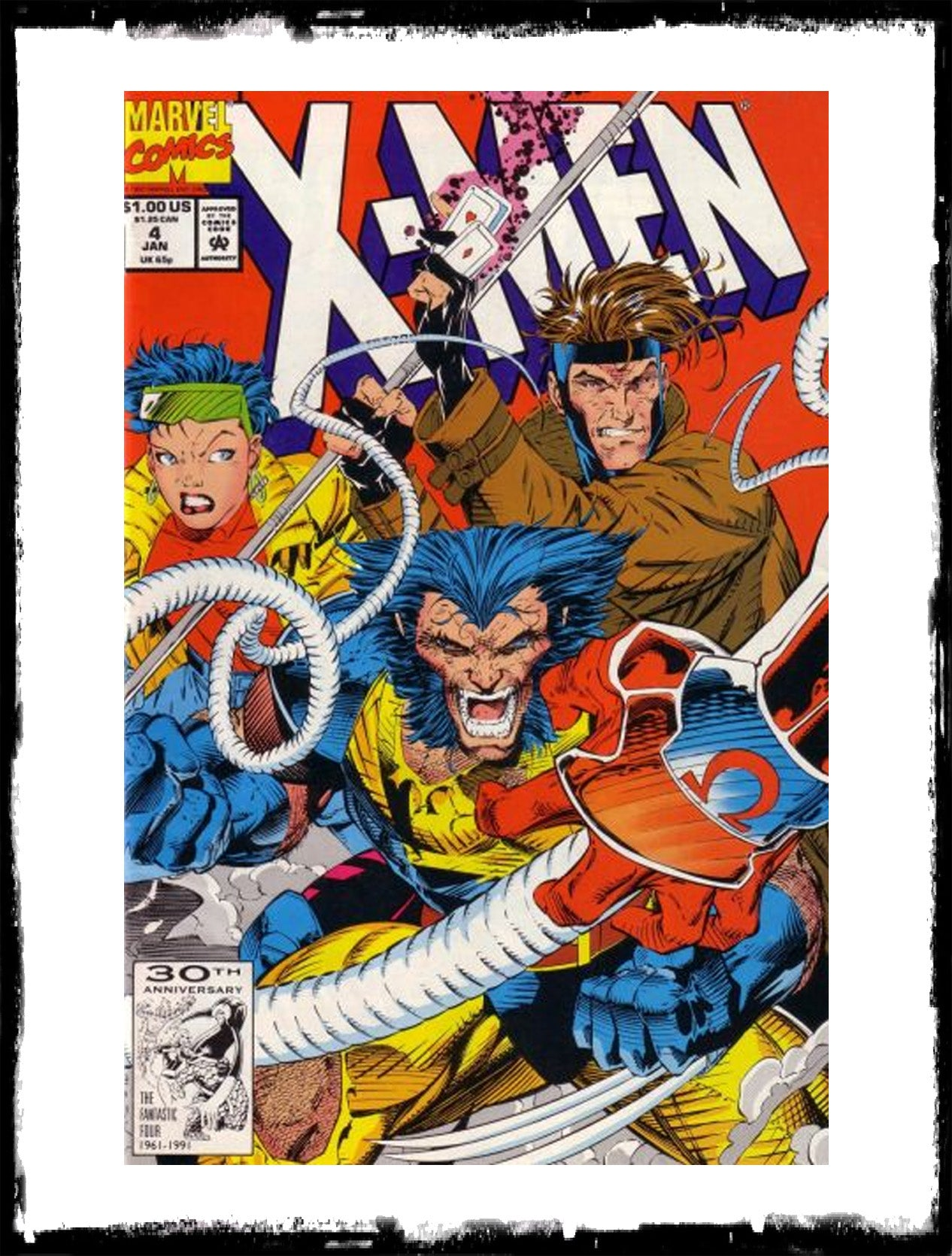 X-MEN - #4 1ST APP OF OMEGA RED (1992 - FN)