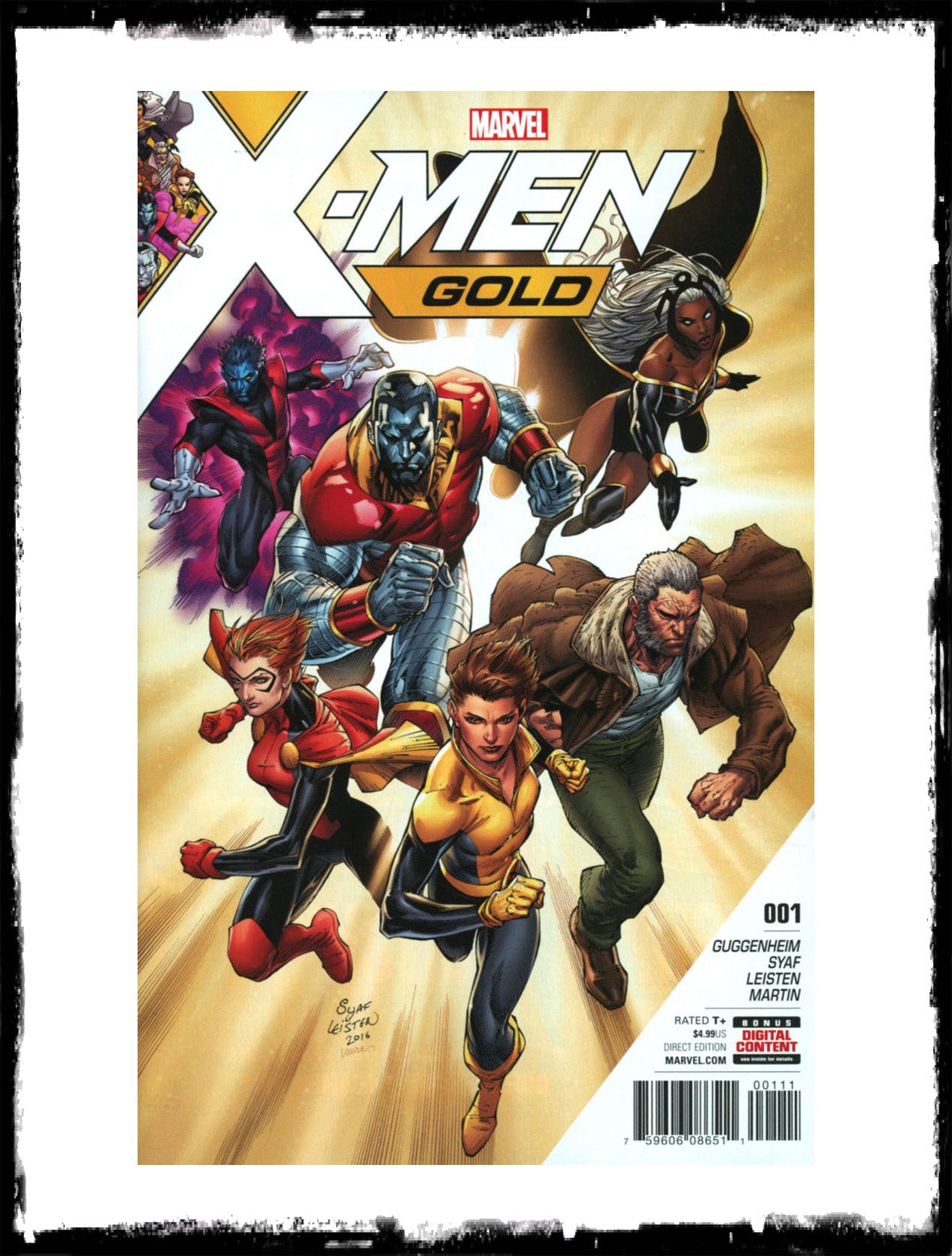 X-MEN GOLD - #1 CONTROVERSIAL FIRST PRINT (2017 - CONDITION NM)