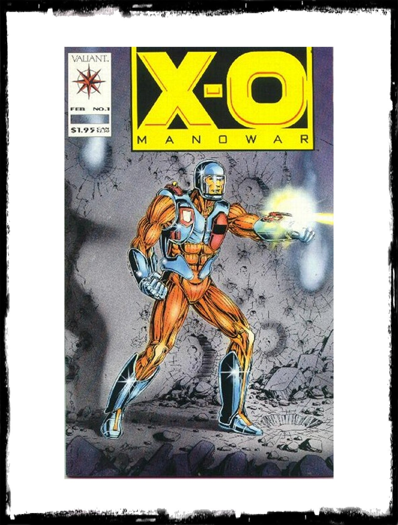 X-O MANOWAR - #1 (1992 - CONDITION VF)