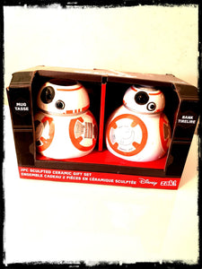 STAR WARS - BB-8 2 PIECE CERAMIC MUG & BANK SET