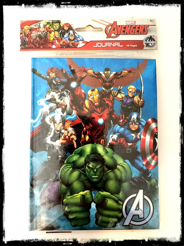 MARVEL - THE AVENGERS - DIARY / JOURNAL / NOTEPAD