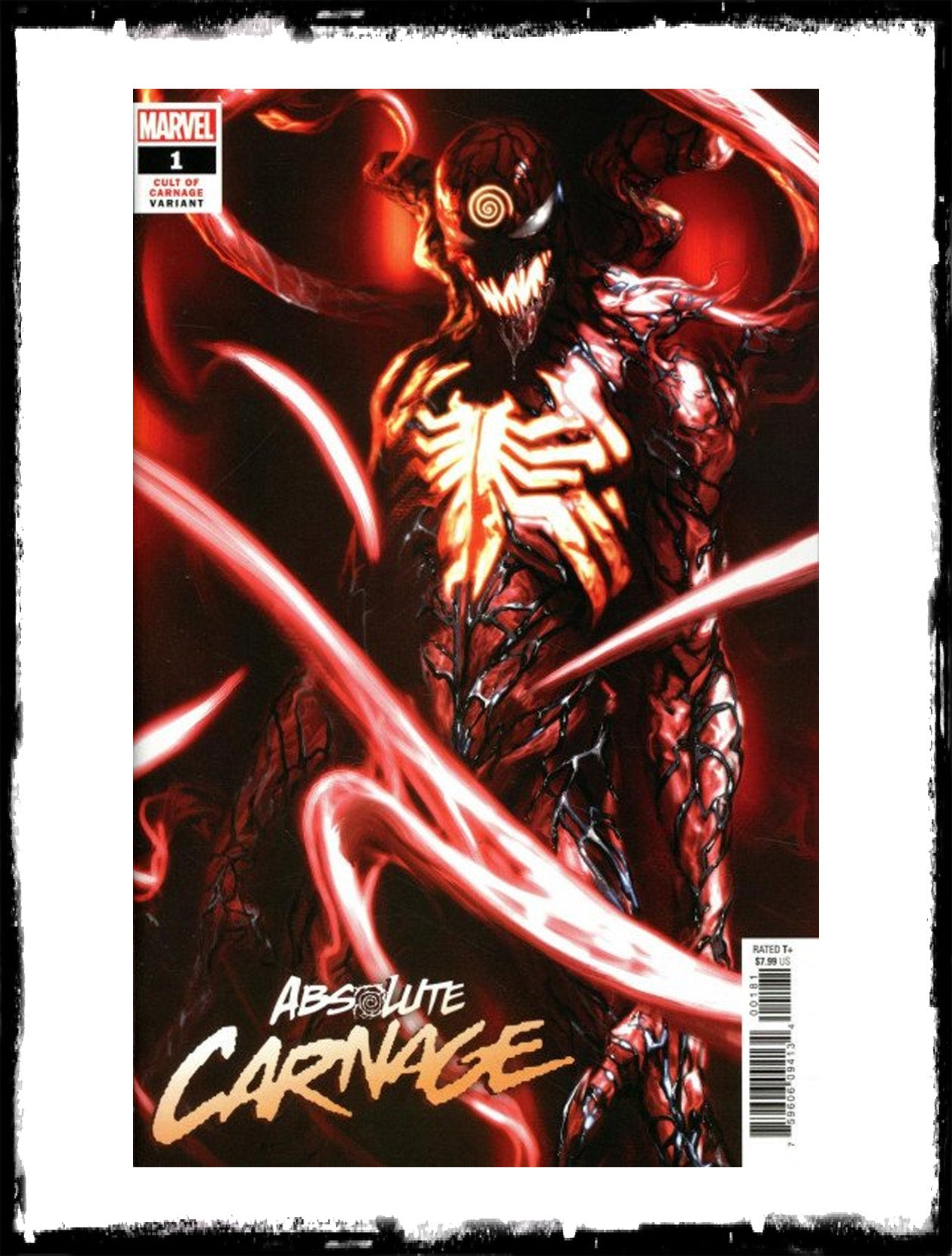 ABSOLUTE CARNAGE - #1 GABRIELE DELL'OTTO VARIANT (2019 - NM)