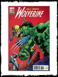 ALL-NEW WOLVERINE - #31 HULK SMASH VARIANT (2018 - CONDITION NM)