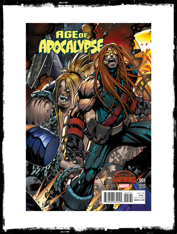 AGE OF APOCALYPSE - #1 RARE GERARDO SANDOVAL VARIANT (2015 - CONDITION NM)