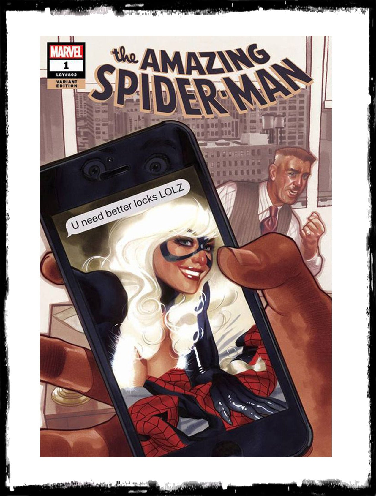AMAZING SPIDER-MAN - #1 ADAM HUGHES VARIANT (2018 - NM)