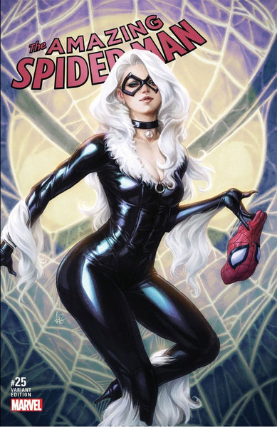AMAZING SPIDER-MAN - #25 ARTGERM LIMITED VARIANT (2018 - NM)