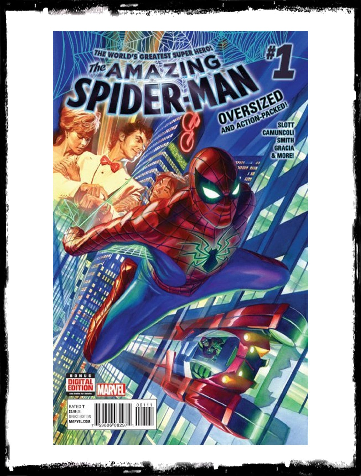 AMAZING SPIDER-MAN - #1 (2015 - CONDITION NM)