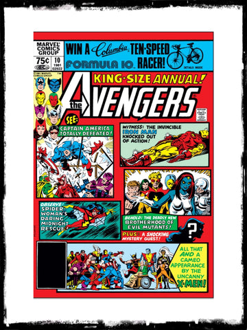 AVENGERS - ANNUAL #10 (1981 - CONDITION VF)