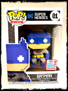 BATMAN (8-BIT) #01 - 2017 FALL CONVENTION EXCLUSIVE! - FUNKO POP! (2017)