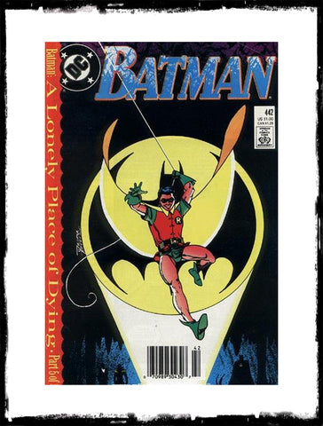 BATMAN - #442 FIRST TIM DRAKE AS ROBIN (1989 - CONDITION VF+)