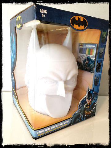 DC - BATMAN - COLOR YOUR OWN COWL - RARE!
