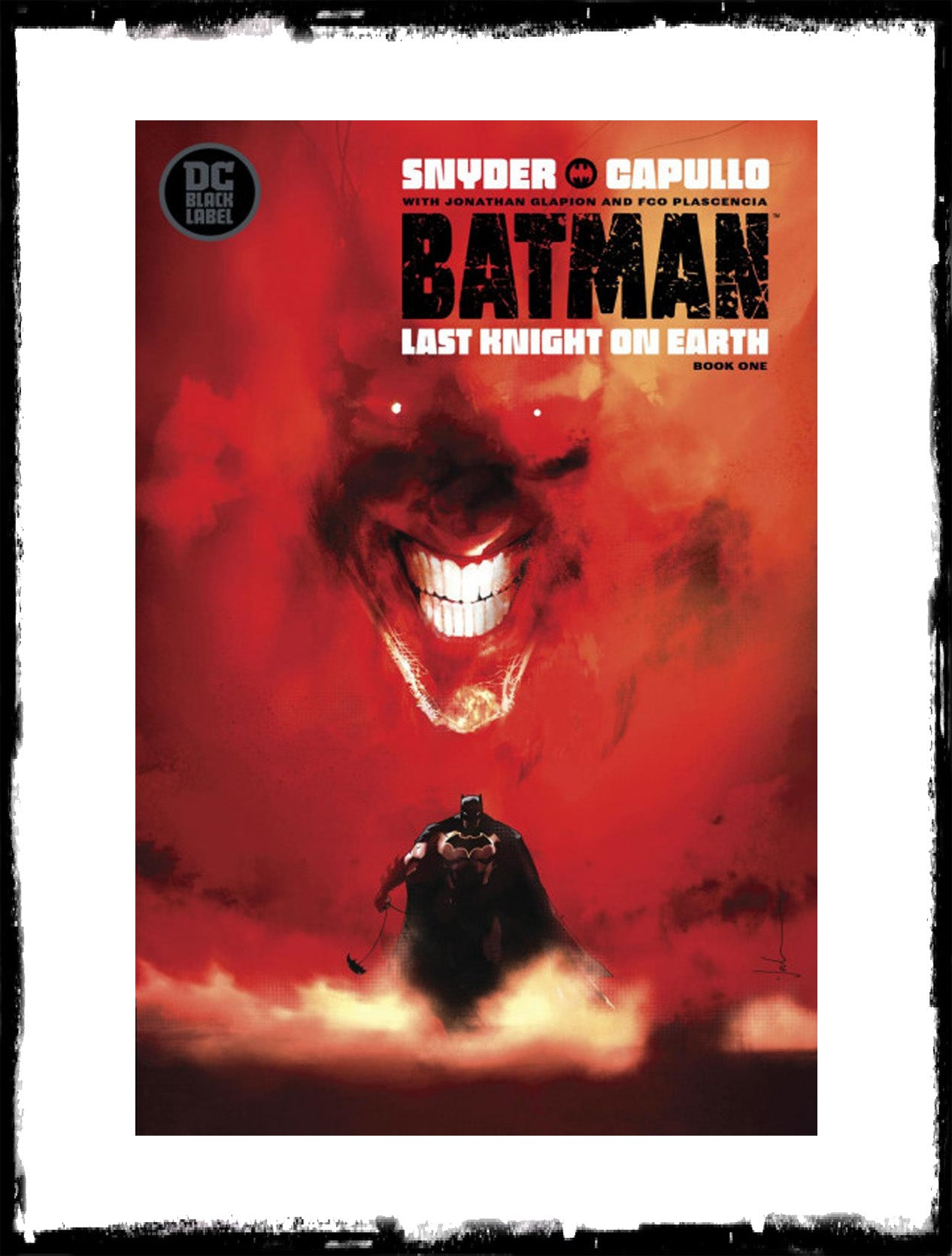 BATMAN LAST KNIGHT ON EARTH - #1 JOCK VARIANT COVER (2019 - CONDITION NM)