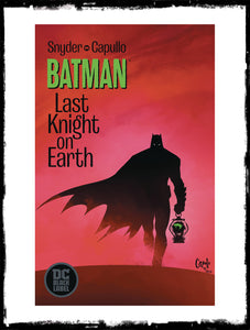BATMAN LAST KNIGHT ON EARTH - #1 (2019 - CONDITION NM)