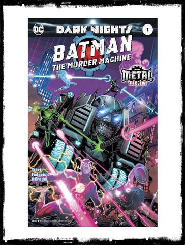 BATMAN: THE MURDER MACHINE - #1 (2017 - CONDITION NM)