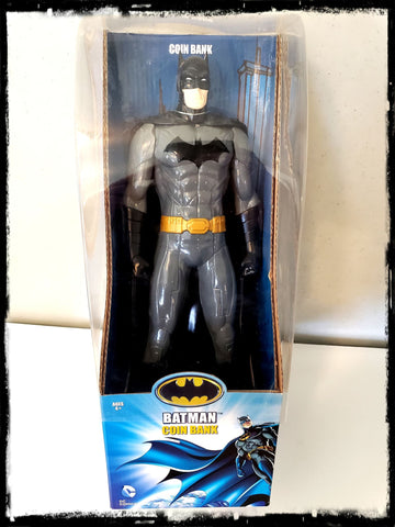DC - BATMAN 14 INCH VINYL FIGURE - COIN BANK