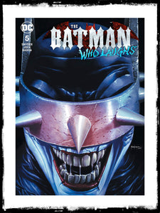 BATMAN WHO LAUGHS - #5 MICO SUAYAN EXCLUSIVE VARIANT (2019 - CONDITION NM)