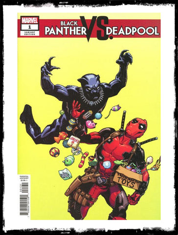 BLACK PANTHER VS DEADPOOL - #1 CULLY HAMMER VARIANT (2018 - VF)