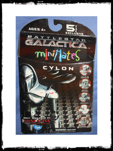 BATTLESTAR GALACTICA - CYLON MINI MATES 5-PACK!