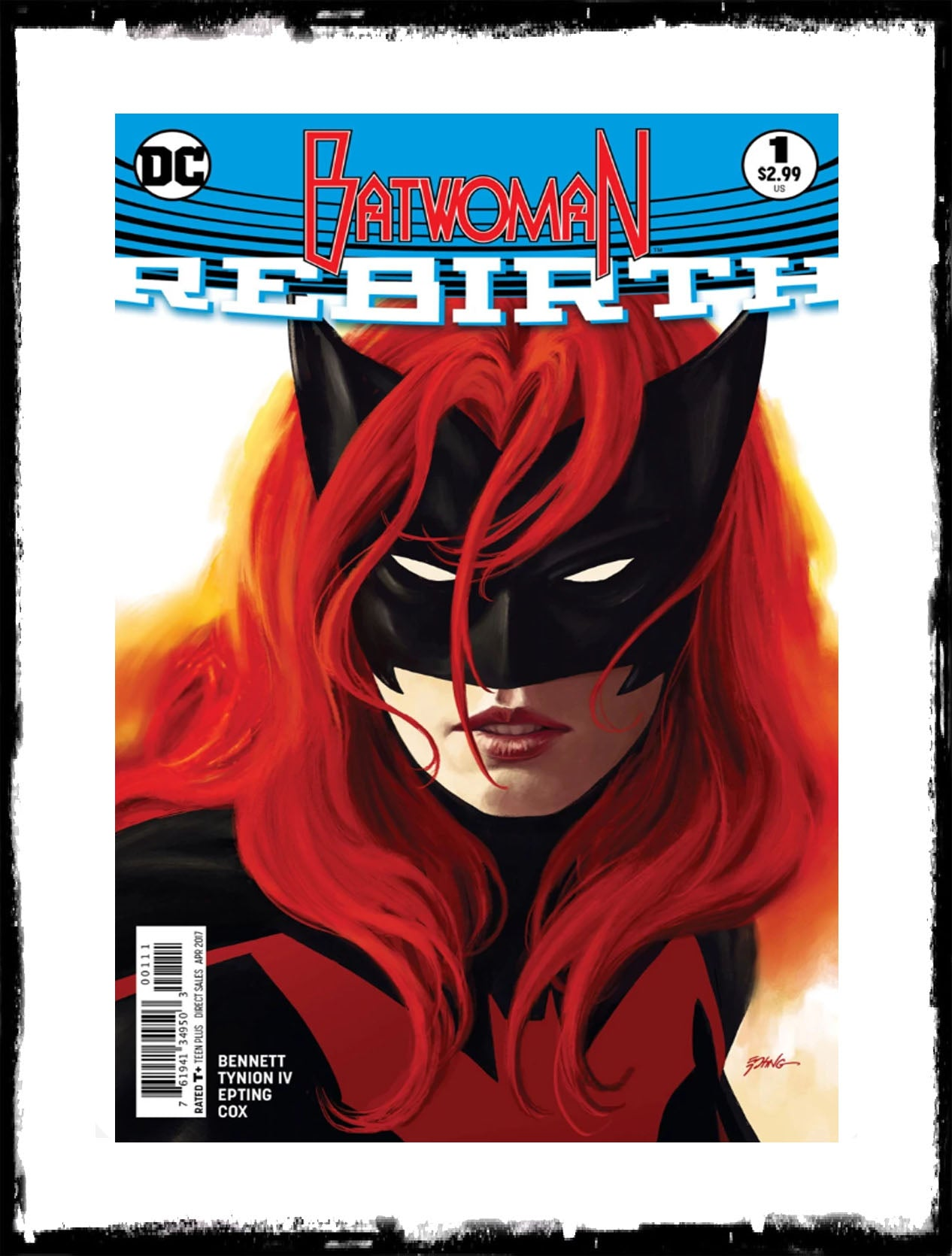 BATWOMAN - #1 STEVE EPTING COVER (2017 - CONDITION NM)