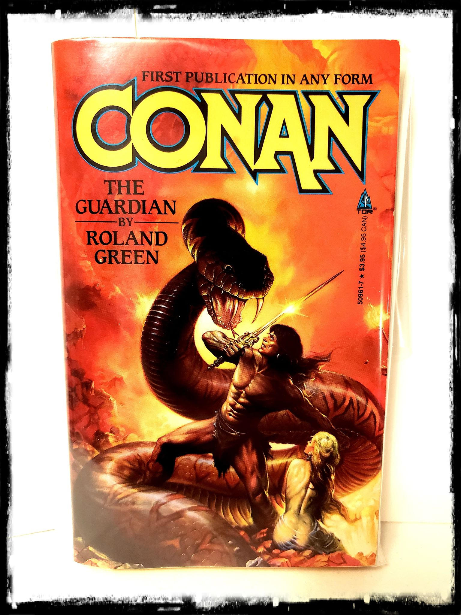 CONAN - THE GUARDIAN (1991 - ROLAND J. GREEN) PAPERBACK