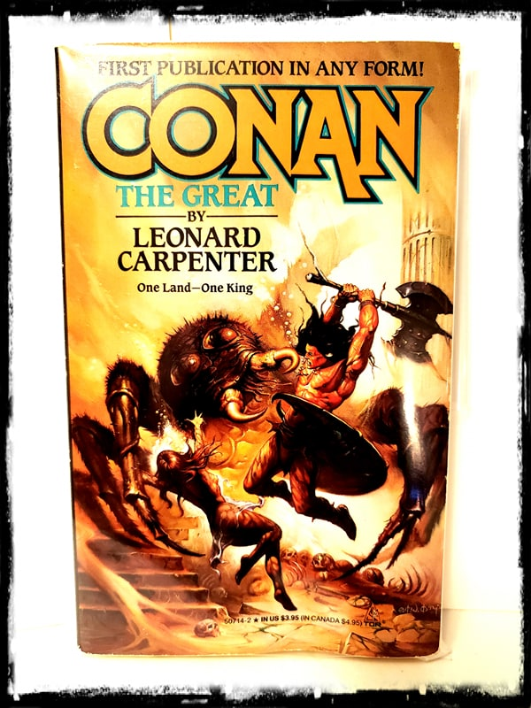 CONAN - THE GREAT (1990 - LEONARD CARPENTER) PAPERBACK