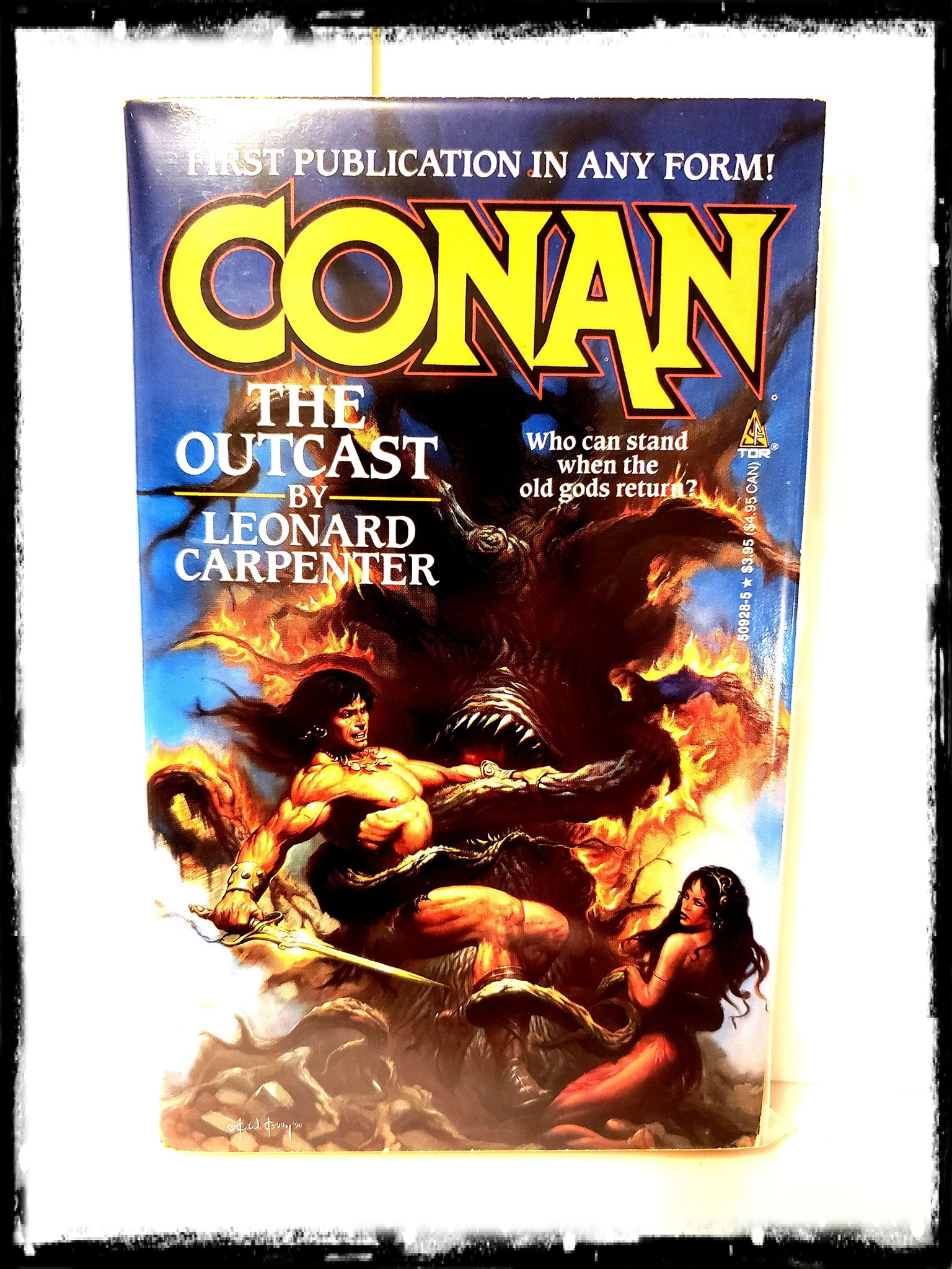 CONAN - THE TRIUMPHANT (1991 - LEONARD CARPENTER) PAPERBACK