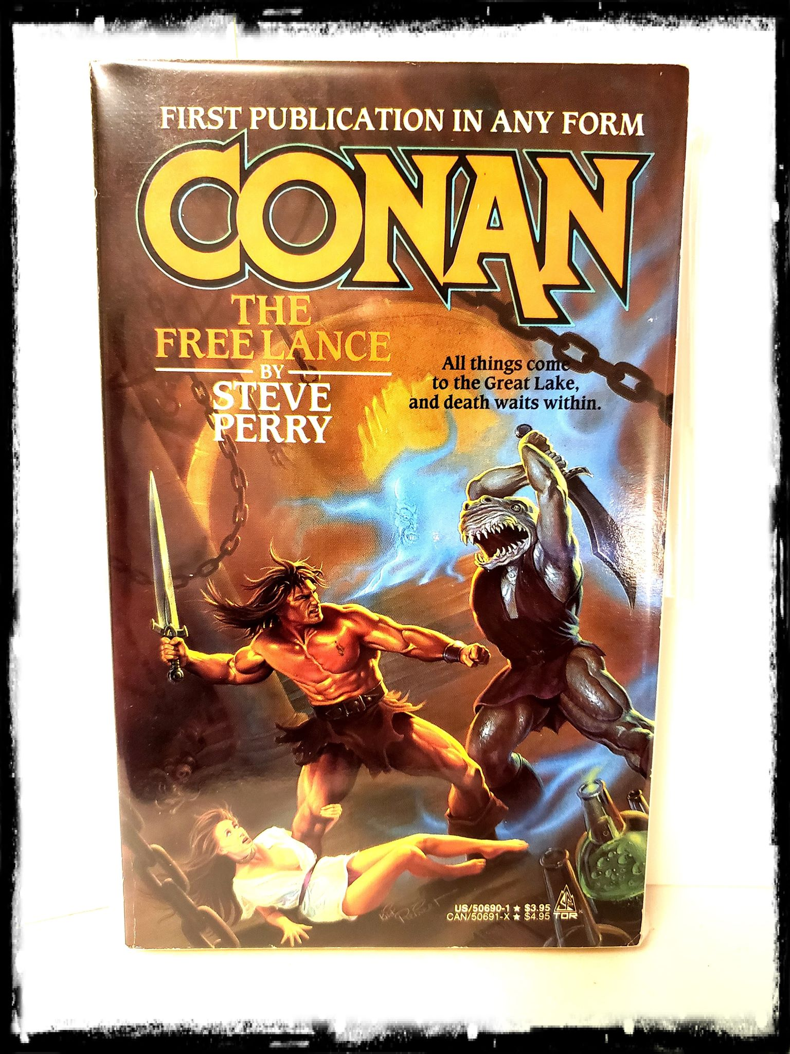 CONAN - THE FREE LANCE (1990 - STEVE PERRY) PAPERBACK