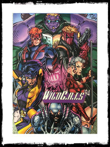 WILDC.A.T.S 1994 OVERSIZED CHROMIUM TRADING CARDS - COMPLETE SET!
