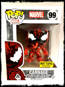 CARNAGE #99 - HOT TOPIC EXCLUSIVE! - FUNKO POP! (2015)