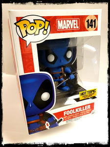 DEADPOOL / FOOLKILLER #141 - HOT TOPIC EXCLUSIVE! FUNKO POP! (2016)