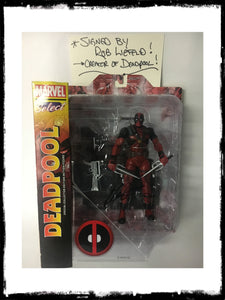 DEADPOOL - MARVEL SELECT COLLECTOR EDITION ACTION FIGURE SIGNED BY ROB LIEFIELD!