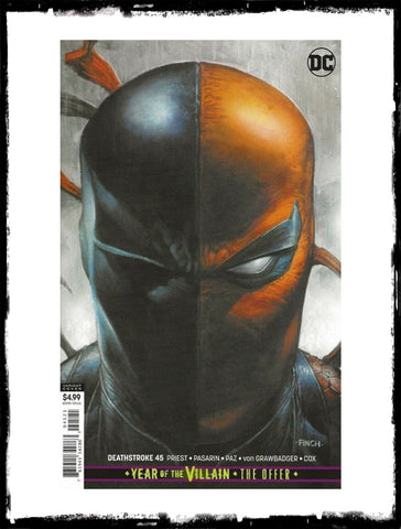 DEATHSTROKE - #45 DAVID FINCH VARIANT (2019 - NM)