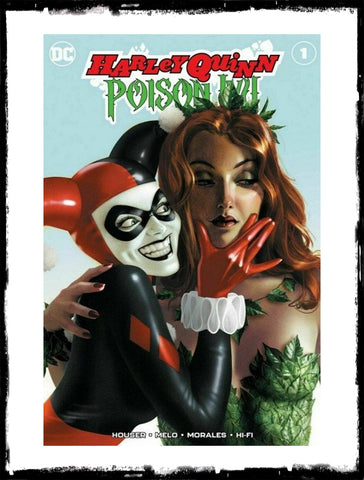 HARLEY QUINN & POISON IVY - #1 JOSHUA MIDDLETON EXCLUSIVE VARIANT (2019 - NM)