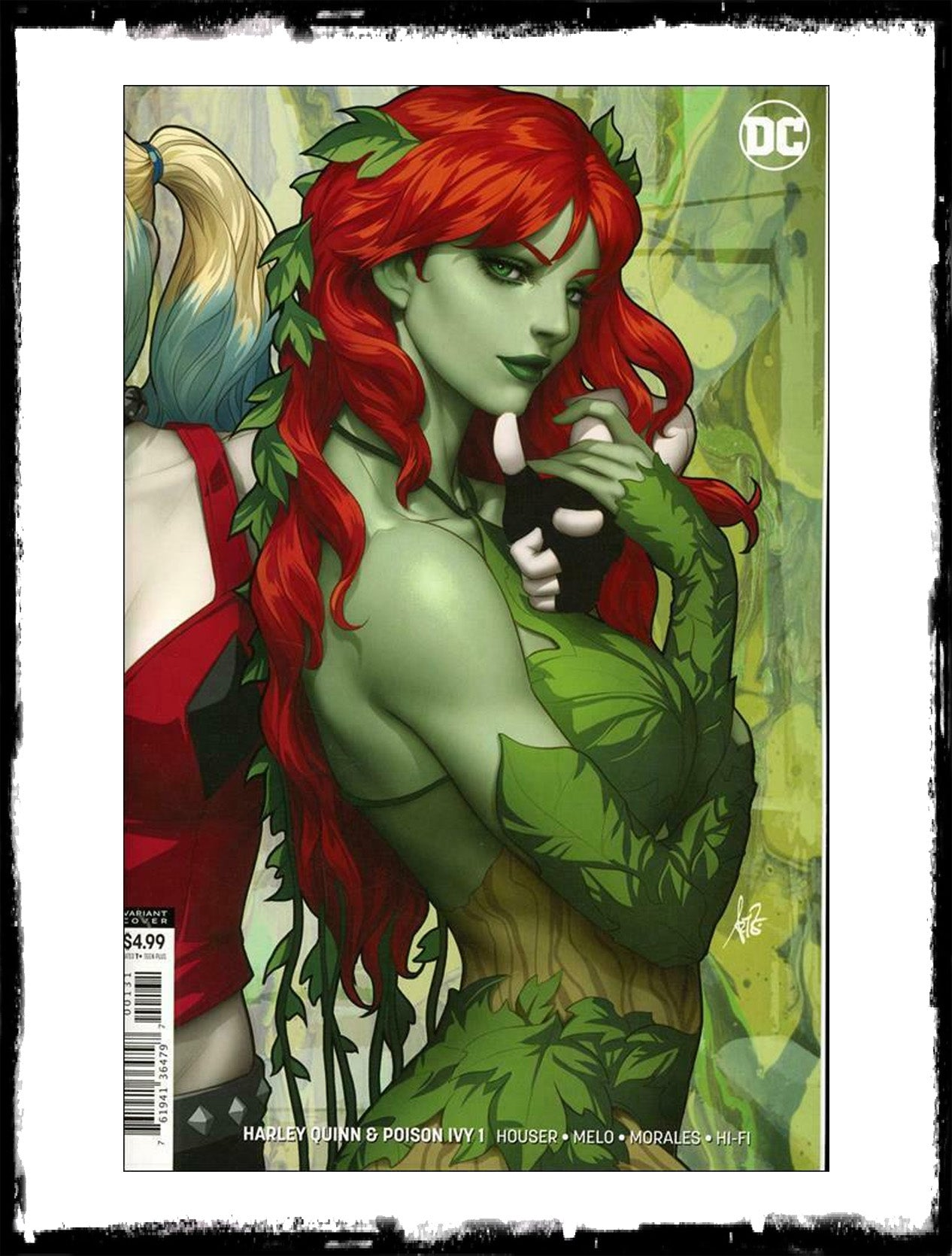HARLEY QUINN & POISON IVY - #1 STANLEY ARTGERM IVY EXCLUSIVE VARIANT (2019 - NM)