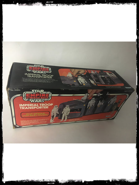 STAR WARS - VINTAGE 1980 IMPERIAL TROOP TRANSPORT!