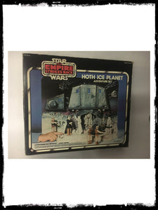STAR WARS - VINTAGE 1980 HOTH ICE PLANET PLAYSET!